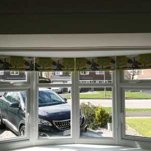 Roman Blinds Example 2