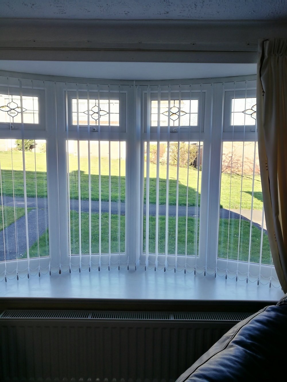 Vertical Blinds Curved Track Free Measuring And Fitting